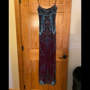 Yigal Azrouel Designer Long Spaghetti Strap Dress